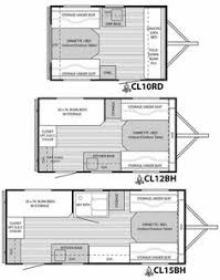 Pretty 4 Floor Plans Small Travel Trailers Designs For Teardrop Campers
