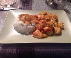 cuisine de a à z minceur blancs de poulet minceur au curry et à la tomate recette de