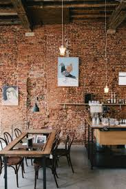 Viktor Antwerp Cafe Coffee And Art Gallery Love That Exposed Brick Wall