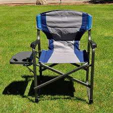 Westfield Outdoors Timber Ridge Director's Chair With Side Table ... Directors Chairs With Folding Side Table Youtube Mings Mark Stylish Camping Brown Full Back Chair Costway Compact Alinum Cup Deluxe Tall Director W And Holder Side Table Cooler Old Man Emu Adventure 4x4 With Black 156743 Rv Outdoor Meerkat Bushtec Heavy Duty Marquee Alinium Home Portable Pnic Set Double Chairumbrellatable Blue Shop Outsunny Steel Camp