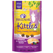 wellness cat food wellness kittles grain free cat treats whitefish and