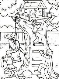 Treehouse Coloring Pages 14 Magic Tree House Jack And Annie