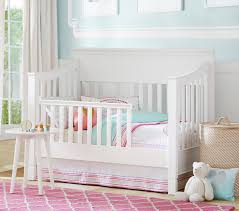 Larkin Guardrail | Pottery Barn Kids Blankets Swaddlings Pottery Barn White Sleigh Crib As Well Bumper Together Archway Stain Grey By Land Of Nod Havenly Itructions Also Nursery Tour Healing Whole Nutrition Kids Dropside Cversion Kit F Youtube Serta Northbrook 4 In 1 Rustic Babys Room Emmas Nursery Kelly The City Abigail 3in1 Convertible Wayfair Antique In