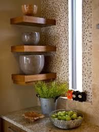 Teak Bathroom Corner Shelves by Kitchen Design Fabulous Small Corner Wall Shelf Oak Corner Shelf