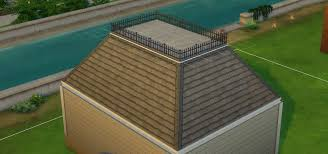 the sims 4 building roofs