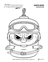 Penguins Coloring Pages Printable Penguin Sheets Page Pdf Animal