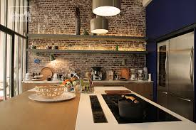 cuisine loft loft with interior patio clav0024 agence mayday scouting agency