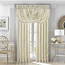 j queen new york marquis rod pocket window curtain panel pair