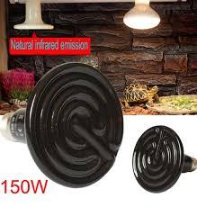 byb 150w 110v ceramic infrared heat emitter brooder coop pet