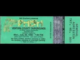 Phish Bathtub Gin Magnaball by 1 1 Bathtub Gin 1998 07 20 Ventura Ca Youtube