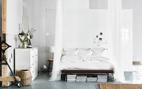 A Big White Bed Crisp Sheets And Pillows Draping Textiles Whats Your Dream