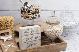 Neutral Color Palette For Your Wedding No Problem With My MMSR Fill Glass Apothecary Jars Single In Shades Like Cream Pearl