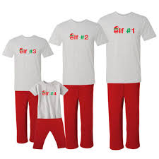 we match numbered elf family 1 8 available matching holiday