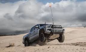 2017 Toyota Tacoma TRD Pro 4x4 Automatic Test   Review   Car And Driver New 2018 Toyota Tacoma Trd Sport Double Cab In Tallahassee M014205 The 2017 Pro Is Bro Truck We All Need 2019 East Petersburg Lineup Is Even More Impressive By Kingston Off Road 5 Bed V6 At Santa Top Speed Fe First Drive No Pavement No Problem 2015 Series Test Review Car And Driver