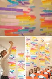 decoration a faire soi meme faire soi même des mobiles de papier pour décorer la salle des