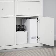 kallax einsatz mit tür weiß 33x33 cm