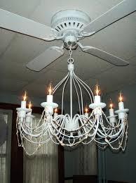 crystal chandelier light kit for ceiling fan ceiling fan with