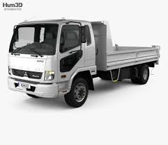 100 Fuso Truck Mitsubishi Fighter Tipper 2017 3D Model Vehicles On Hum3D