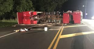 100 Dump Truck Crash Manchester Dump Truck Crash Downs Utility Pole