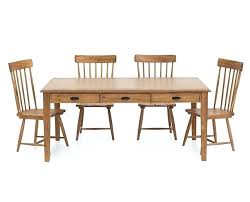 Farmhouse Dining Table And 6 Chairs Magnolia Home Furniture Row 5 Room Set With Brown