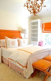 Loving This Orange And White Bedroom Serena Chandelier By Stray Dog Designs Straydogdesigns