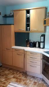 küche ewe ahorn cognac inkl e geräte in 5202