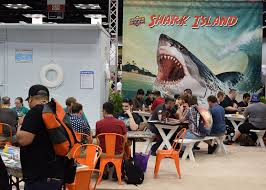 One Of The Most Ridiculous Booths And Games At Gen Con Was Upper Decks