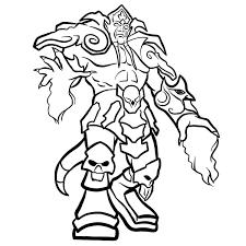 Dibujos Para Pintar De World Of Warcraft Dibujos Para