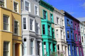 100 Notting Hill Houses Colourful Houses In London England United Kingdom