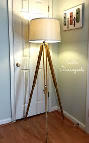 Crate And Barrel Cole Desk Lamp by Decor Tripod Lamp Antique Floor Lamps Wooden Tripod Floor Lamps