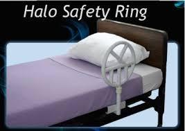 Elderly Bed Rails by Halo Safety Ring Halo Bed Rails Adjustable Bed Assist Bar