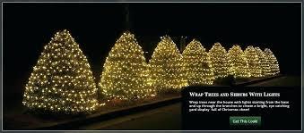 Led Tree Trunk Lights How