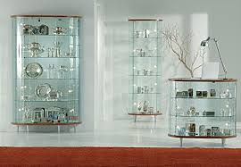 Glass Display Cabinet Showcases With Wooden Structure Showcase Dining Room Top Line 3
