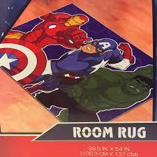 Marvel avengers area room rug 39 5 x 54 inch captain america