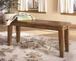 Ashley Furniture D199 00 Dining Chair Bench Rustic Finish