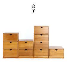 boite a tiroirs en bois l populaire japonaise bois boîte de rangement en bois tiroir