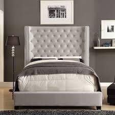 Furniture of America Carabella Contemporary Flannelette Wingback