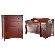 Sorelle Dresser French White by Sorelle Furniture Tuscany Princeton Convertible Crib With 4 Drawer