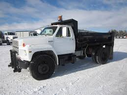 100 Single Axle Dump Trucks For Sale 1983 D F800 Truck Detroit 72L 170HP 52