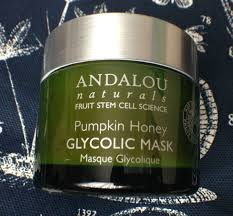 Andalou Naturals Glycolic Mask Pumpkin Honey by August 2015 U2013 A Brash Attitude