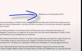 Writing An Informal Letter Personal Writing French VCE Text