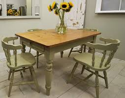 Rustic Chic Dining Room Ideas by Green Shabby Kitchen Table Shabby Chic Dining Table Shabby House