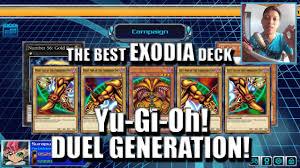 the best exodia deck forbidden yu gi oh duel generation youtube