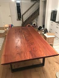 tisch aus mahagoni 2 40 x 1 20 möbel wohnzimmer