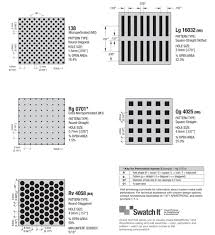 Armstrong Acoustical Ceiling Tile Specifications by Armstrong Commercial Ceilings Metalworks Perforation Options