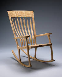 Maloof Rocking Chair Joints by In The Studio With Kit Clark Vermont Furniture Maker