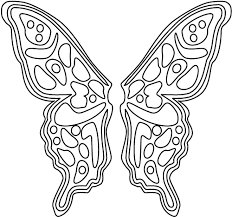 Fairy Coloring Sheet Butterfly Wings Printable