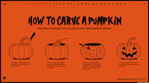 Simple Steps To Carving A Pumpkin by Happy Halloween 2016 How To Carve A Pumpkin 4k Hd Desktop