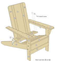folding adirondack chair plans woodwork city free woodworking plans