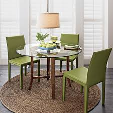 outstanding green leather dining room chairs 15 in dining room